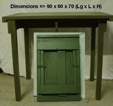 fabrication table de campement Table_13