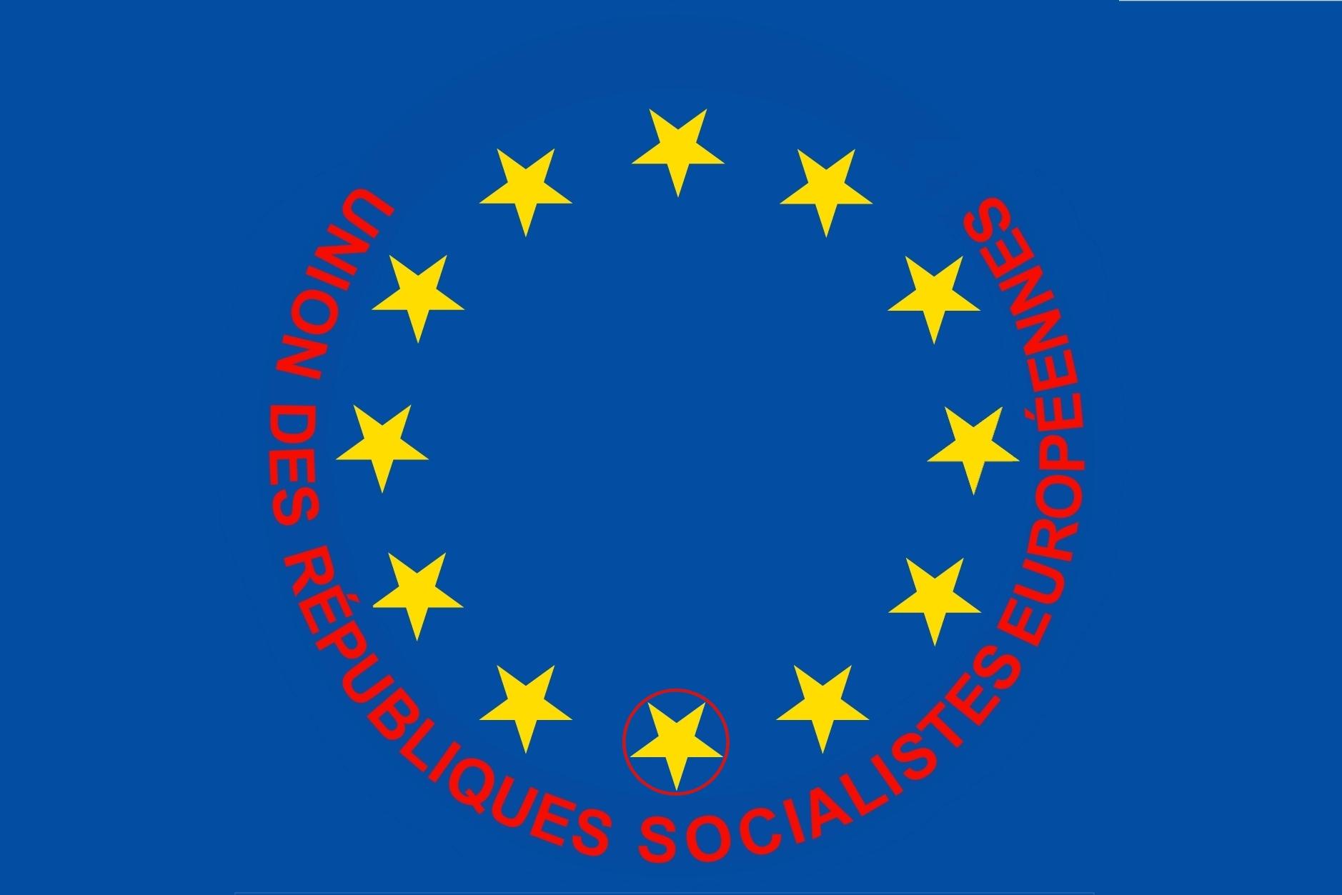 Représentation plus réaliste du drapeau européen Uniond11