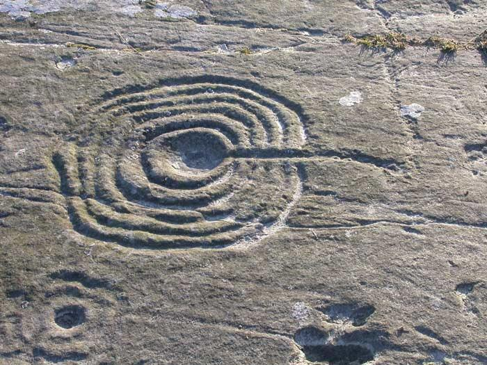 Scottish Story 1: Rock art sur le site préhistorique de Kilmartin en Ecosse. 05_wee10
