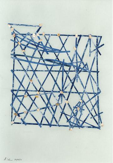 Cartes en bâtonnets et art contemporain (ou plus ancien) Adrian11