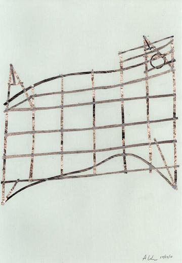 Cartes en bâtonnets et art contemporain (ou plus ancien) Adrian13