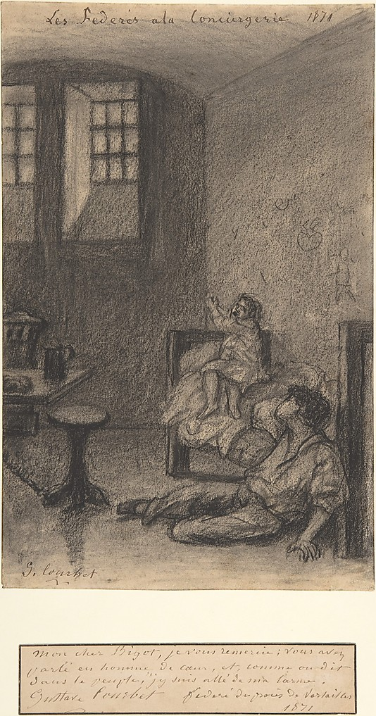 """David Bosc """"La claire fontaine"""", les années d'exil de Courbet Courbe14"""