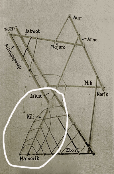 """Les cartes en bâtonnets, ou """"stick charts"""" des Iles Marshall (devinette dédiée à Northman) - Page 8 D210"""