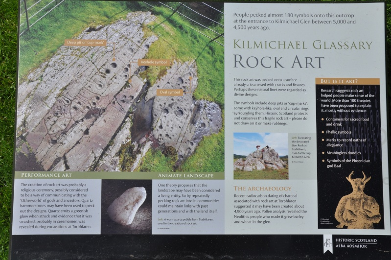 Scottish Story 1: Rock art sur le site préhistorique de Kilmartin en Ecosse. Dsc_0032