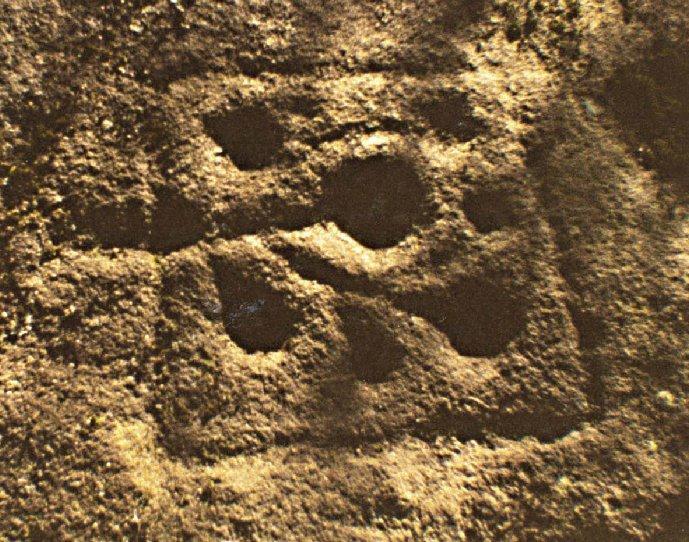 Scottish Story 1: Rock art sur le site préhistorique de Kilmartin en Ecosse. Guisec10