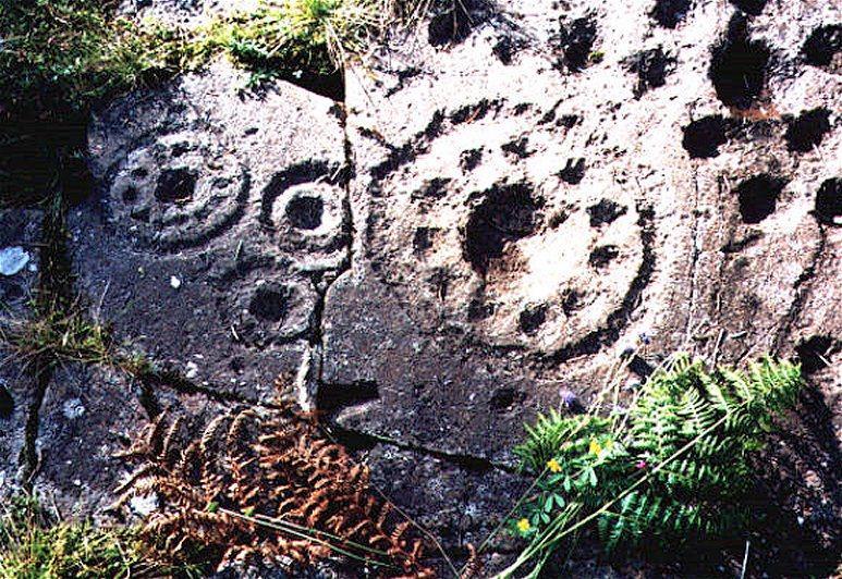 Scottish Story 1: Rock art sur le site préhistorique de Kilmartin en Ecosse. Ormaig11