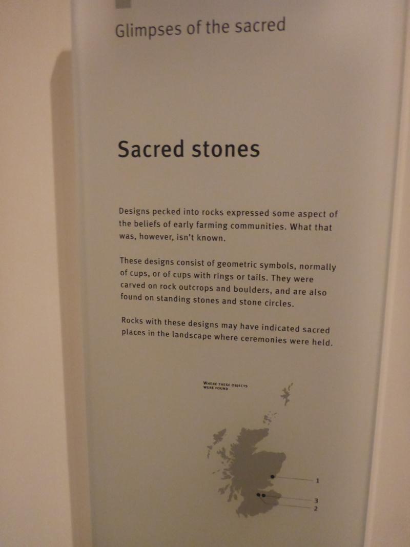 Scottish Story 1: Rock art sur le site préhistorique de Kilmartin en Ecosse. P1020810