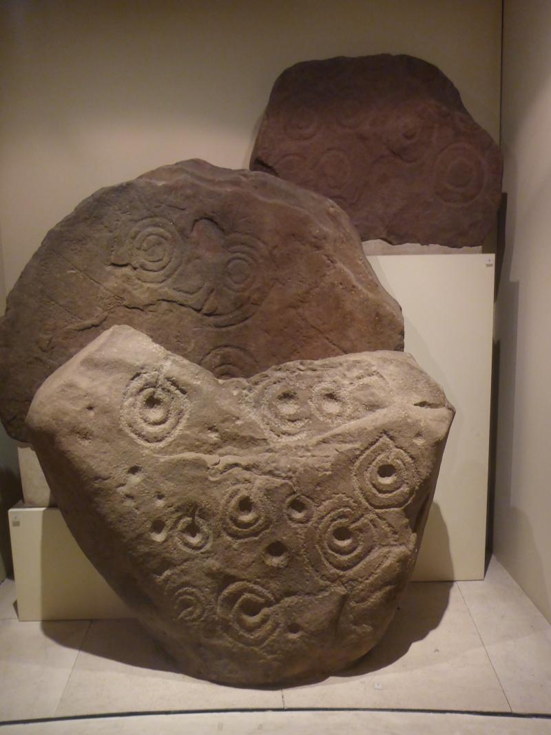 Scottish Story 1: Rock art sur le site préhistorique de Kilmartin en Ecosse. P1020811