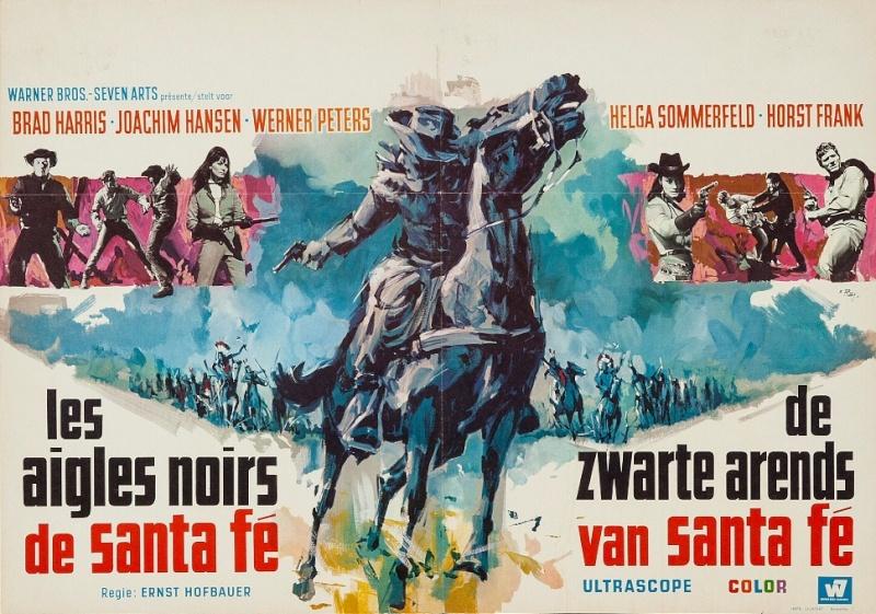 Les Aigles Noirs de Santa Fe. Die schwarzen Adler von Santa Fe. 1964. Ernst Hofbauer et Alberto Cardone. G2aw10