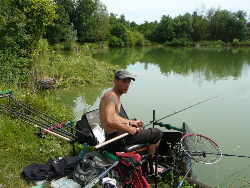 Festival de pêche sur le plan d'eau de Chuzelles (38) 13 et 14 juin P1150522