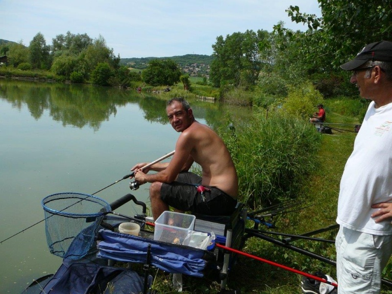 Festival de pêche sur le plan d'eau de Chuzelles (38) 13 et 14 juin P1150525