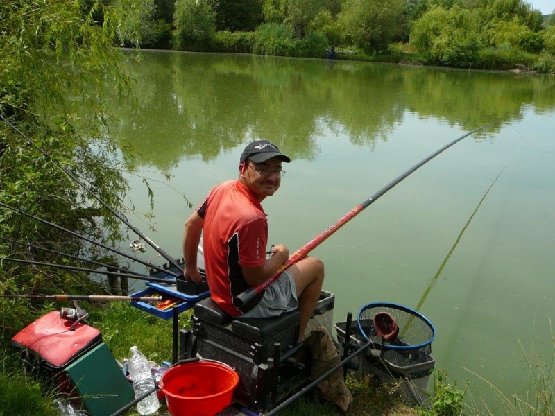 Festival de pêche sur le plan d'eau de Chuzelles (38) 13 et 14 juin P1150529