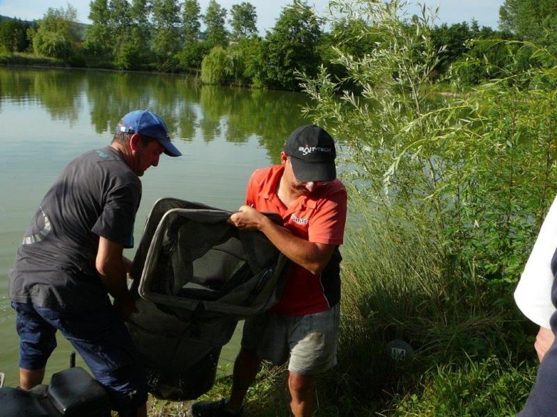 Festival de pêche sur le plan d'eau de Chuzelles (38) 13 et 14 juin P1150538