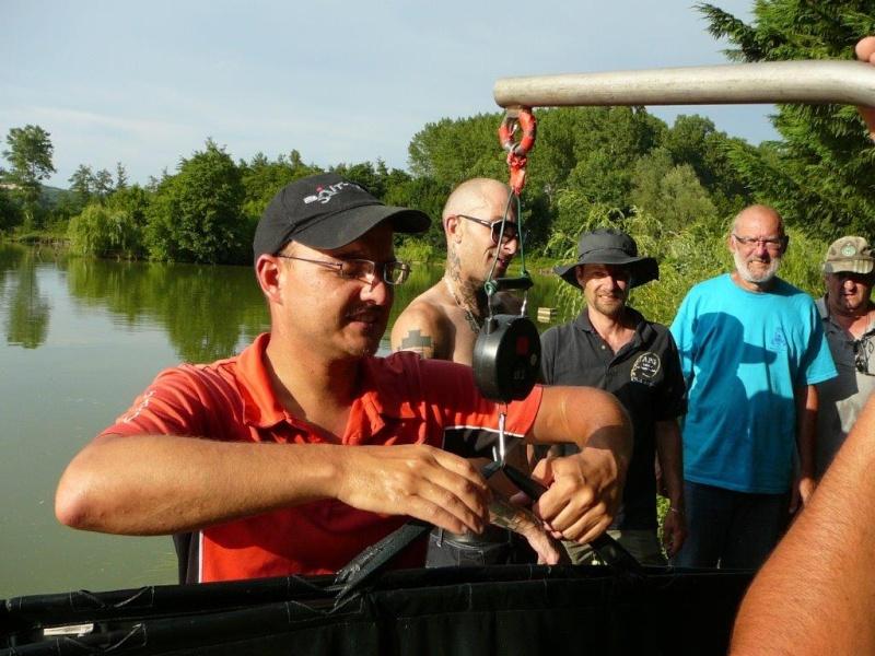 Festival de pêche sur le plan d'eau de Chuzelles (38) 13 et 14 juin P1150540