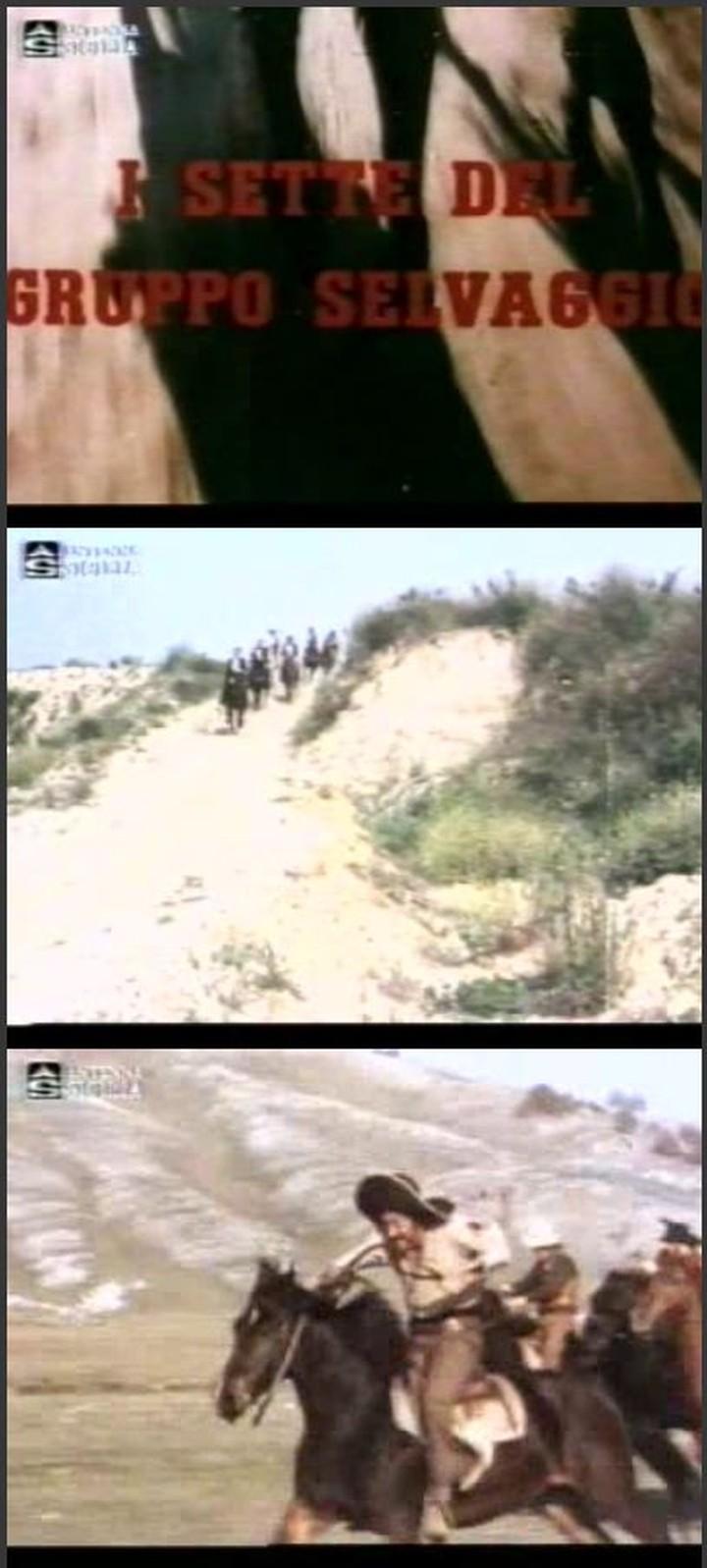 I sette del gruppo selvaggio (Inédit en France) - 1972 ou 1975 - Gianni Crea - Captur17