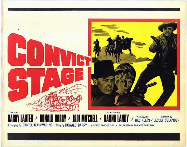 CONVICT STAGE – 1965 – Lesley SELANDER Convic10
