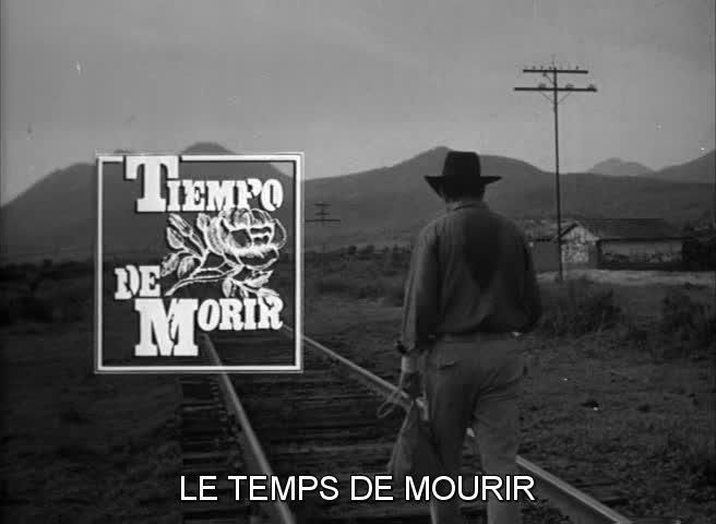 Tiempo de morir (1965) de Arturo Ripstein scénario Gabriel García Márquez et Carlos Fuentes Vlcsna46