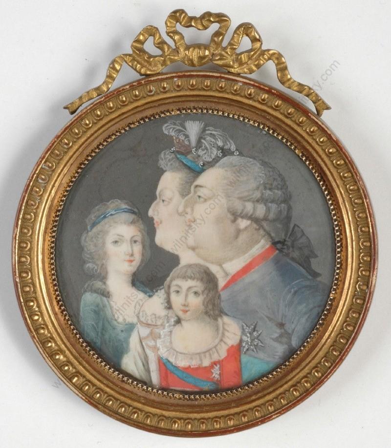 Le physique des enfants de Louis XVI et Marie-Antoinette - Page 3 Famill12