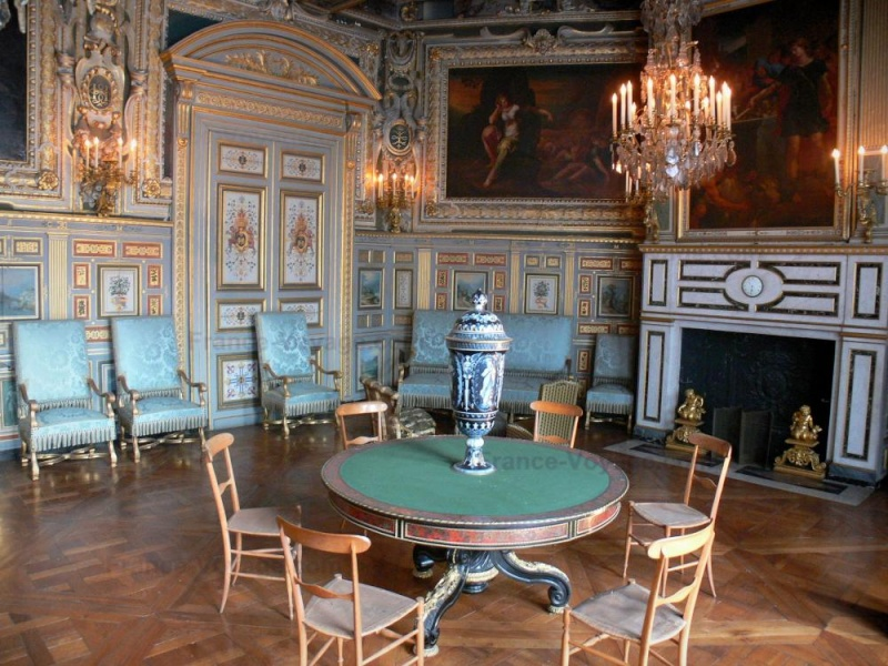 Le boudoir turc de Marie-Antoinette à Fontainebleau - Page 2 Salon_10