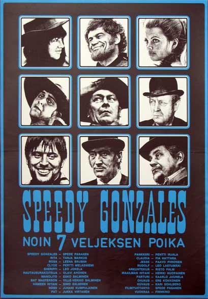 Speedy Gonzales, noin 7 veljeksen poika- 1970- Ere Kokkenen E10