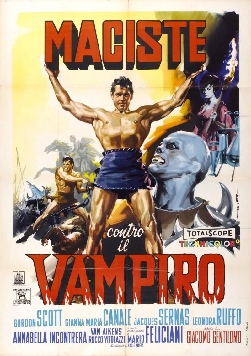 Maciste contre le Fantôme - Giacomo Gentilomo (1961) Macist10