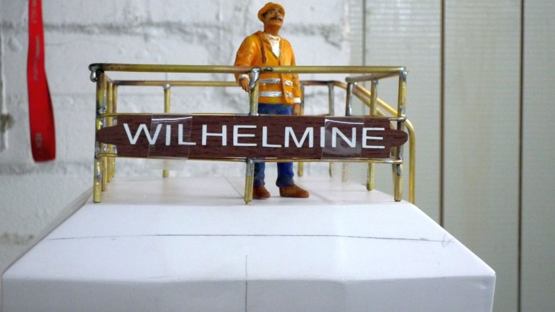 """Hafenschlepper """"WILHELMINE"""" 1:20 03011"""