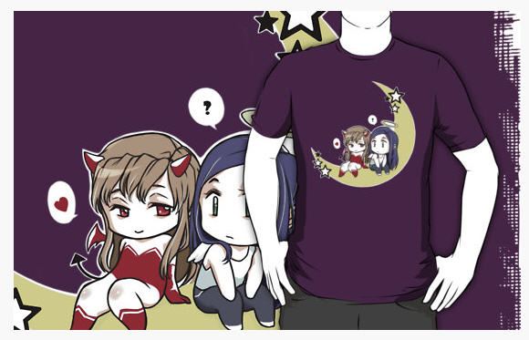Mai-HiME/Otome Redbubble Tee Shirts by Mai Multiverse Ex410