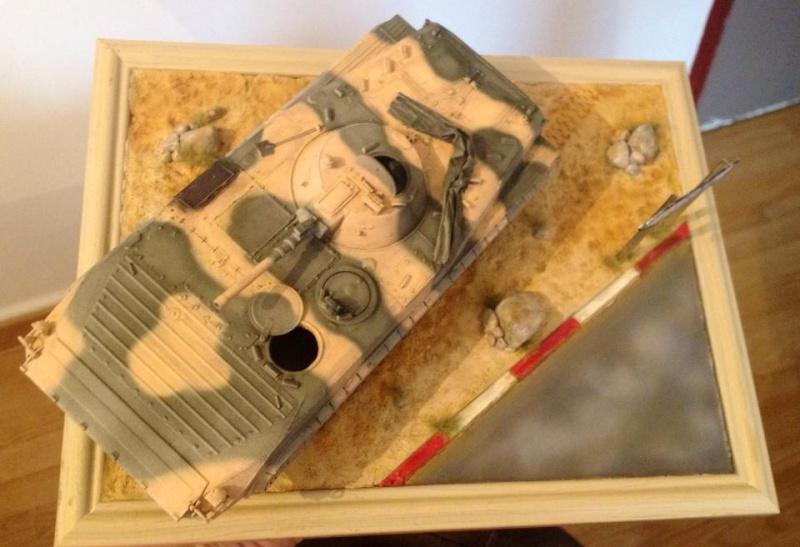 Mon premier diorama avec blindé 11350112