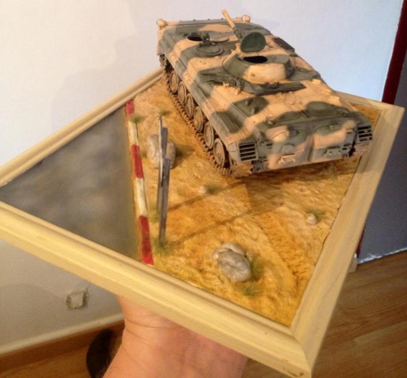 Mon premier diorama avec blindé 11419810