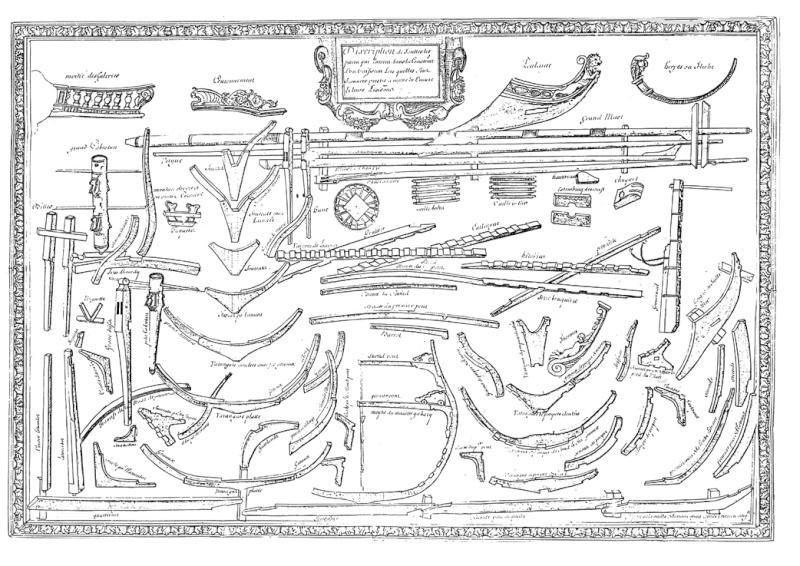 Qui a des informations sur L'Eole (vaisseau naufragé en 1745) ? Planch11