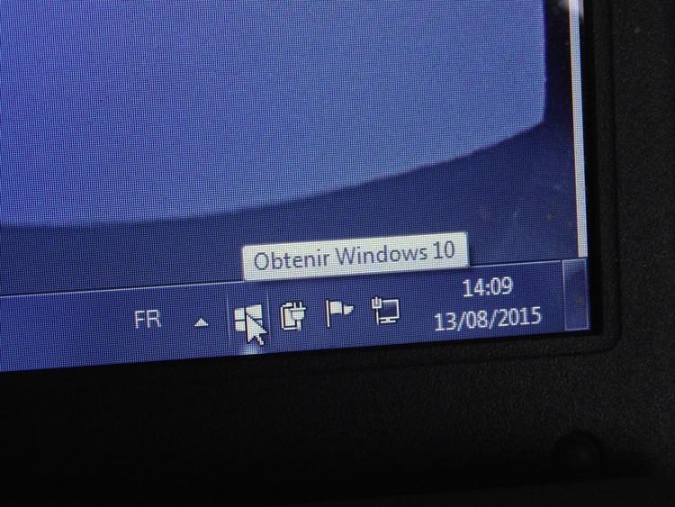 Passage à Windows 10 Window11