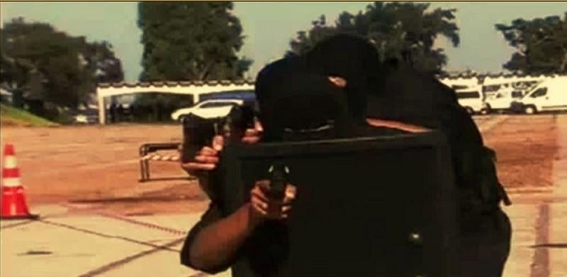Moroccan Special Forces/Forces spéciales marocaines  :Videos et Photos : BCIJ, Gendarmerie Royale ,  - Page 2 Sans_t10