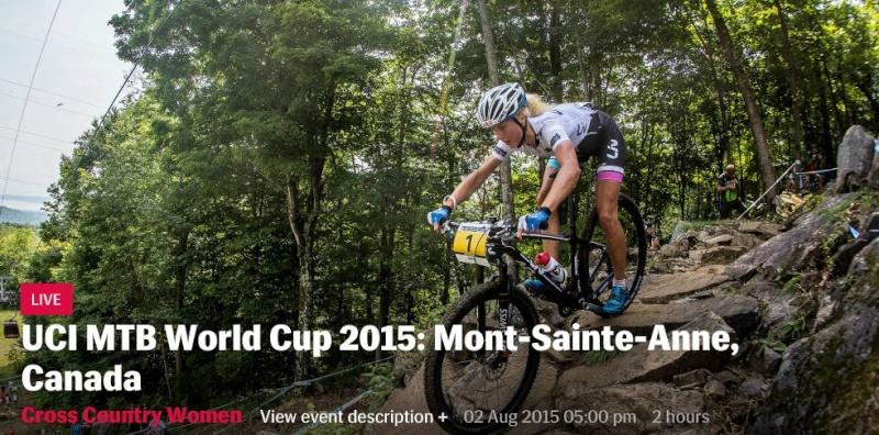 WC XCO 4# - Mont-Sainte-Anne, Canada - 02 aout 2015 Screen29