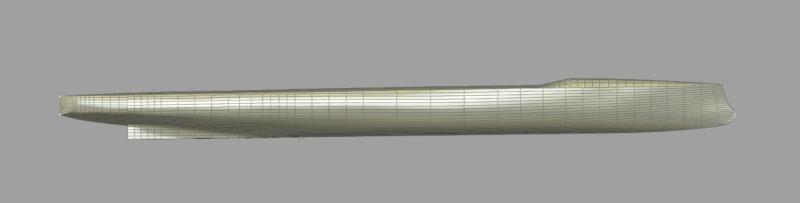 Aviso torpilleur 1905 en Scratch intégral au 1/100ème Formes11