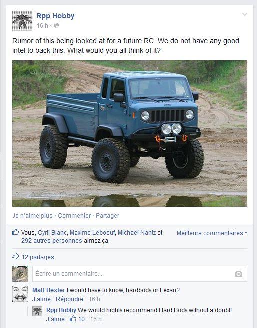 tiens...  vu sur le FB de RPP HOBBY.... Jeep Mighty Captur13