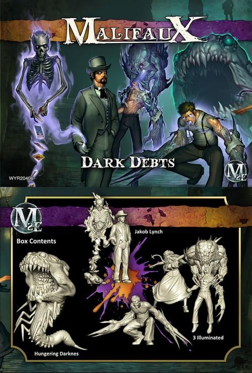 Malifaux fluff - mécanisme - bandes Darkde10