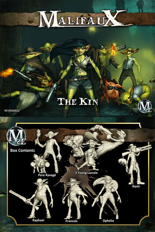 Malifaux fluff - mécanisme - bandes Thekin10