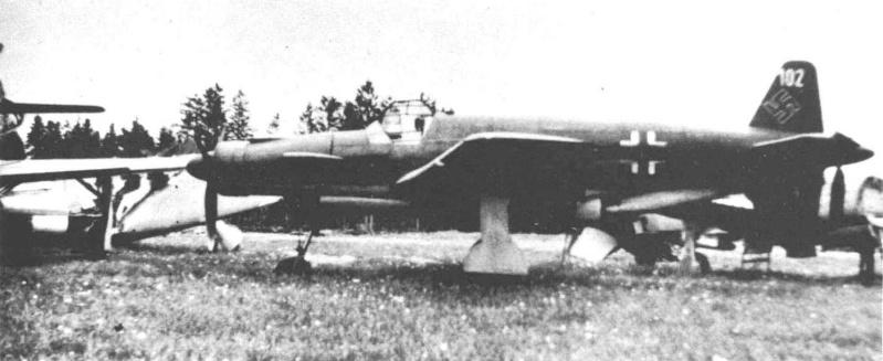 Dornier 335 Pfeil à Oberpfaffenhofen 1945 (diorama) Do335-10