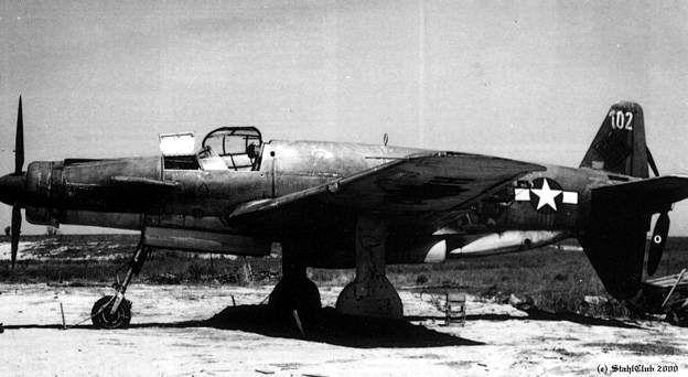 Dornier 335 Pfeil à Oberpfaffenhofen 1945 (diorama) Do335a10