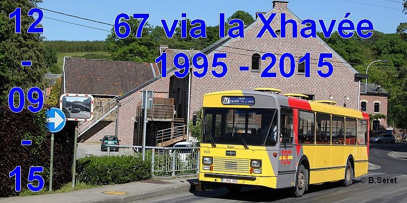 """[Excursion] 20e anniversaire de la fermeture de la variante """"via la Xhavée"""" la ligne 67 2015_020"""