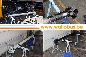 Rénovation d'un Van Hool AG280 de la Société Nationale des Chemins de Fer Vicinaux (5748) Transm10