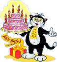 Anita feiert Catcak10