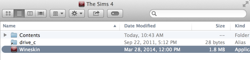 A Guide on HOW TO INSTALL THE SIMS 4 + Addons/DLC on Mac using WINE. Screen11