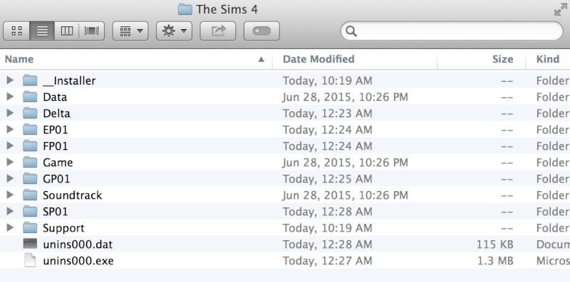 A Guide on HOW TO INSTALL THE SIMS 4 + Addons/DLC on Mac using WINE. Screen14