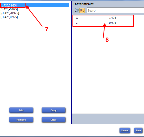 [Débutant] Modifier le Footprint d'un tapis  S4s-ho16