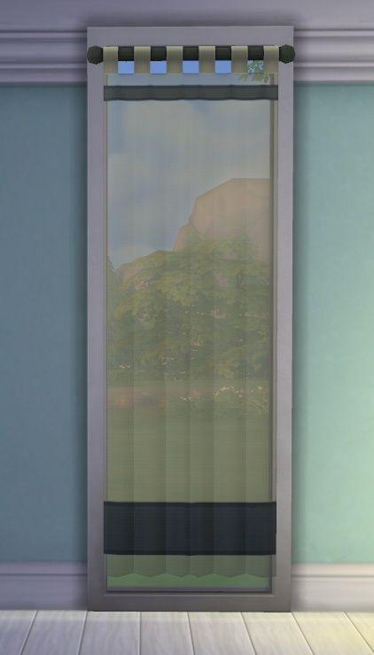 [Apprenti] Ajouter de la transparence à un rideau Tsrw-a10