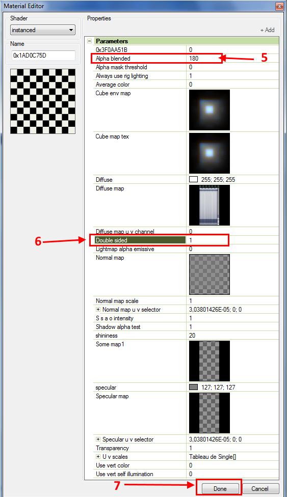 [Apprenti] Ajouter de la transparence à un rideau Tsrw-a14