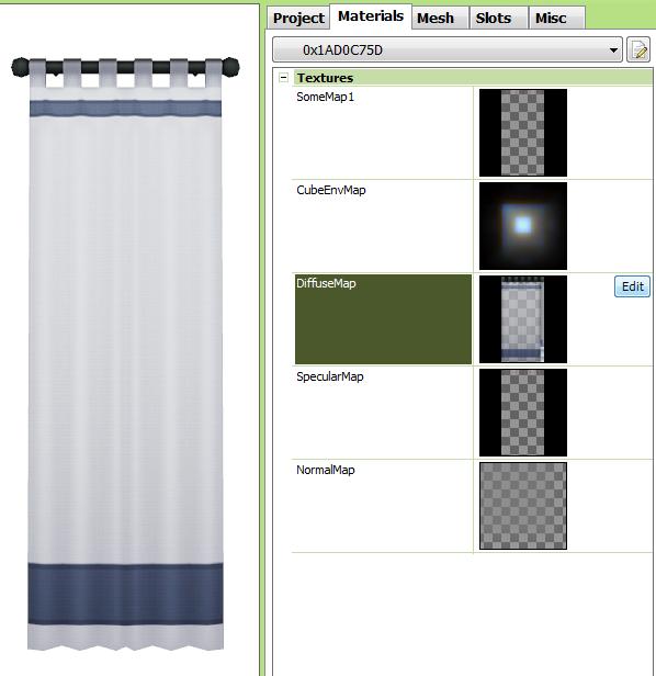 [Apprenti] Ajouter de la transparence à un rideau Tsrw-a19