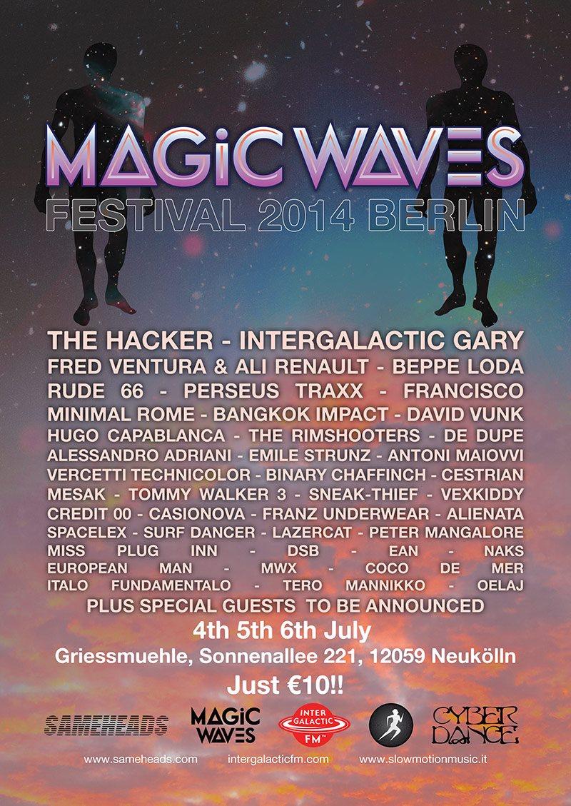 2014.07.05 - The Hacker @ Magic Waves Festival 2014 (Berlin, Germany) De-07010