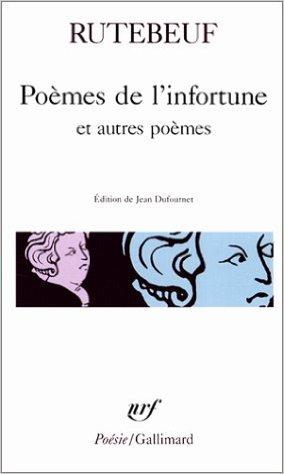 Rutebeuf, Trouvère Poète. - Page 2 41kz8010
